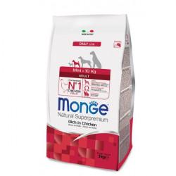 MONGE MINI ADULT POLLO 7,5 KG