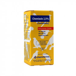 CHEMISOLE 2,5 % 25 ML
