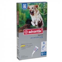 ADVANTIX SPOT ON CANI 25-40 KG