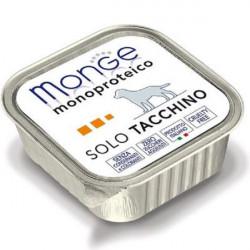 MONGE MONOPROTEICO SOLO TACCHINO GR 150
