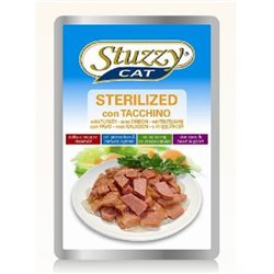 STUZZY CAT STERILIZED TACCHINO 100 GR 100 GR