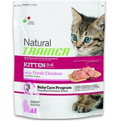 TRAINER NATURAL CAT KITTEN POLLO KG 1,5