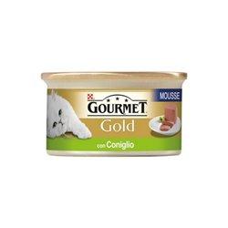 GOURMET GOLD MOUSSE CONIGLIO 85 GR
