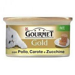 GOURMET GOLD PATÈ POLLO,CAROTE,ZUCCHINE 85 GR