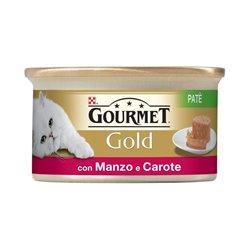 GOURMET GOLD PATÉ MANZO E CAROTE 85 GR