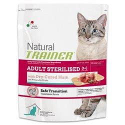 TRAINER NATURAL CAT STERILISED PROSCIUTT CRUDO 1,5 KG