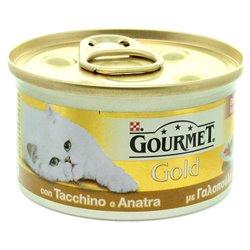 GOURMET GOLD DADINI TACCHINO E ANATRA 85 GR