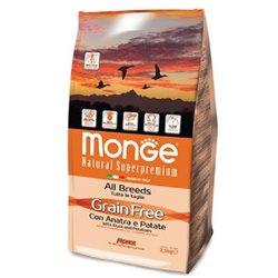 MONGE GRAIN FREE ANATRA-PATATE KG 2,5