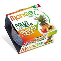 MONGE FRUIT POLLO CON FRUTTA GR 80
