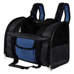 ZAINO CONNOR NERO-BLU 44X30X21