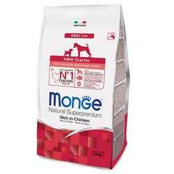 MONGE MINI STARTER DOG 1,5 KG