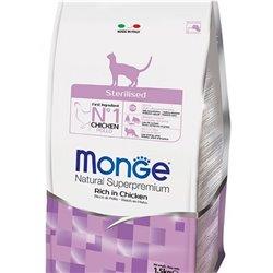 MONGE CAT STERILISED POLLO 1,5 KG