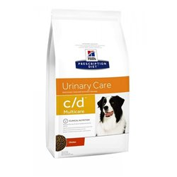 HILL'S C-D URINARY CANE 2 KG