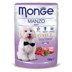 MONGE GRILL BUSTE MANZO 100 GR