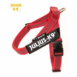 JULIUS IDC BELT HARNESS ROSSO TG 0 COLOR &GRAY