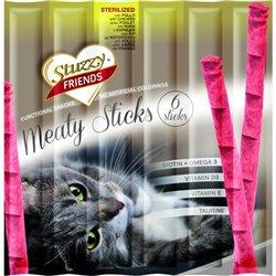 STUZZY FRIENDS CAT MEATY STICKS STERILIZED POLLO X6