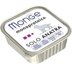 MONGE MONOPROTEICO SOLO ANATRA GR 150