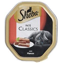 SHEBA PATÈ CLASSICS MANZO 85 GR