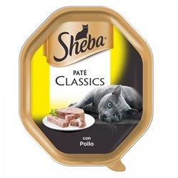 SHEBA PATÈ CLASSIC POLLO 85 GR
