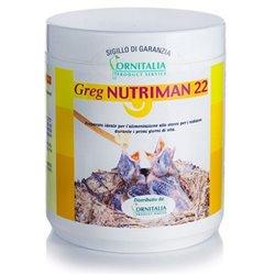 NUTRIMAN 22 CON SPIRULINA GR 500 PAPPA DA IMBECCO