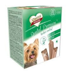 STUZZY DOG DENTAL PREMIUM MINI 28 SNACK 4 X 720 GR