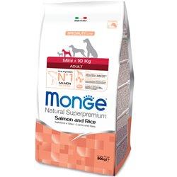 MONGE MINI ADULT SALMONE E RISO 800 GR
