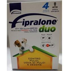 FIPRALONE DUO SPOT ON CANI DA 2 A 10 KG 4 PIPETTE