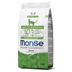 MONGE CAT ADULT MONOPROTEICO AL CONIGLIO 1,5 KG