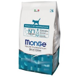 MONGE CAT KITTEN POLLO 1,5 KG