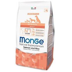 MONGE ALL BREEDS SALMONE E RISO KG 12