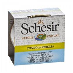 SCHESIR CAT BRODO TONNO CON TRIGLIA 70 GR