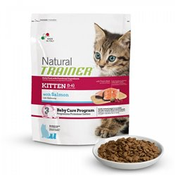 TRAINER NATURAL CAT KITTEN SALMONE 1,5 KG