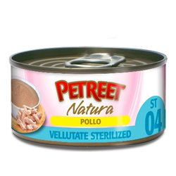 PETREET NATURA VELLUTATE STERILIZED POLL 70 GR