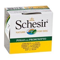 SCHESIR DOG POLLO E PROSCIUTTO 150 GR