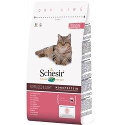 SCHESIR CAT ADULT STERILIZED PROSCIUTTO 400 GR