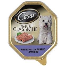 CESAR RICETTE CLASSICHE GUSTOSO PATÈ CON AGNELLO E TACCHINO 150 GR