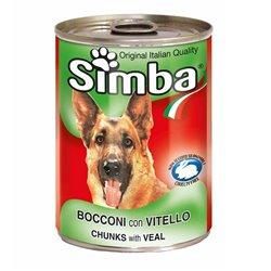 SIMBA CANE BOCCONI VITELLO 415 GR