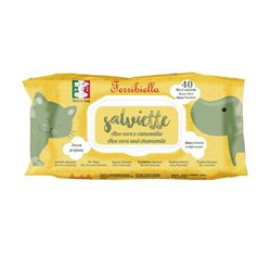 SALVIETTE FERRIBIELLA ALOE VERA-CAMOMILL 40 PZ