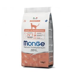 MONGE CAT ADULT MONOPROTEICO AL SALMONE 1,5 KG