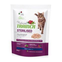 TRAINER NATURAL CAT STERILISED CARNI BIANCHE FRESCHE GR 300