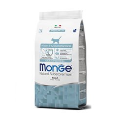 MONGE CAT KITTEN TROTA 400 GR