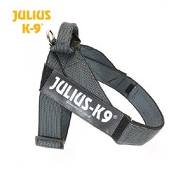 JULIUS IDC BELT HARNESS NERO TG 2 COLOR &GRAY