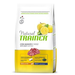 TRAINER NATURAL SMALL TOY MANZO E RISO 2 KG