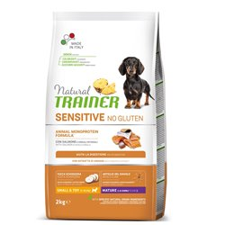 TRAINER NATURAL SENSITIVE MATURE SALMONE NO GLUTEN SMALL TOY 2 KG