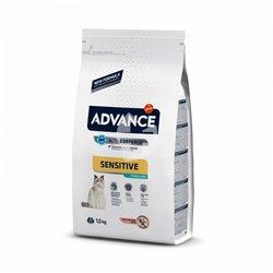 ADVANCE CAT SENSITIVE STERILIZZATO SALMONE 1,5 KG