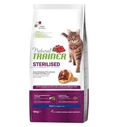 TRAINER NATURAL CAT STERILISED PROSCIUTTO CRUDO 10 KG