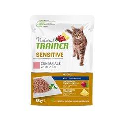 TRAINER NATURAL CAT SENSITIVE PORK GR 56
