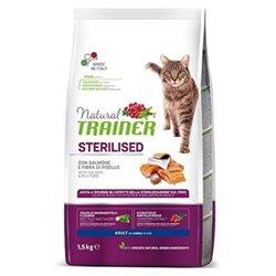 TRAINER NATURAL CAT STERILIZZATO SALMONE 1,5 KG