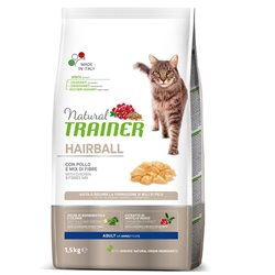 TRAINER NATURAL CAT HAIRBALL POLLO 1,5 KG