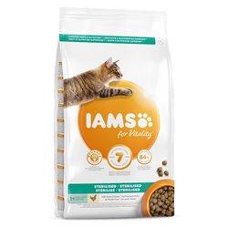 IAMS FOR VITALITY CAT STERILIZZATO POLLO 1